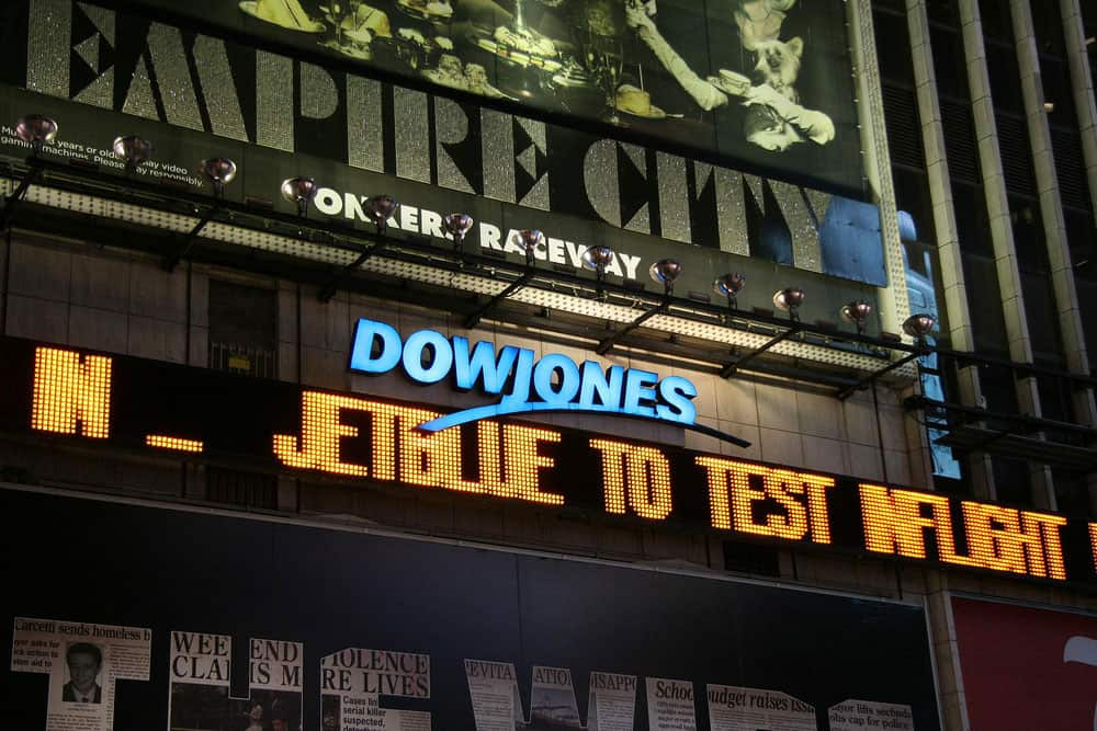 Dow Jones US index
