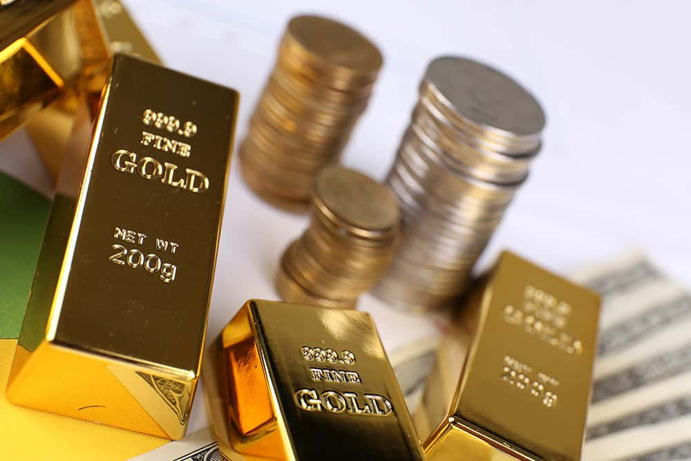 Gold prices on the rise