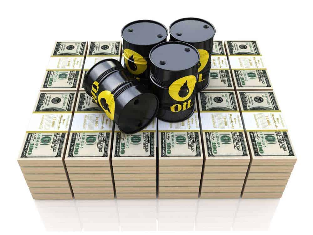 US crude biggest slump
