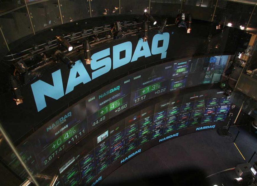 NASDAQ posts record