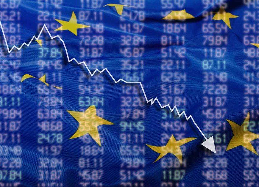 European shares fell