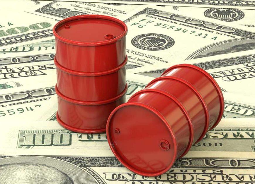 Oil output
