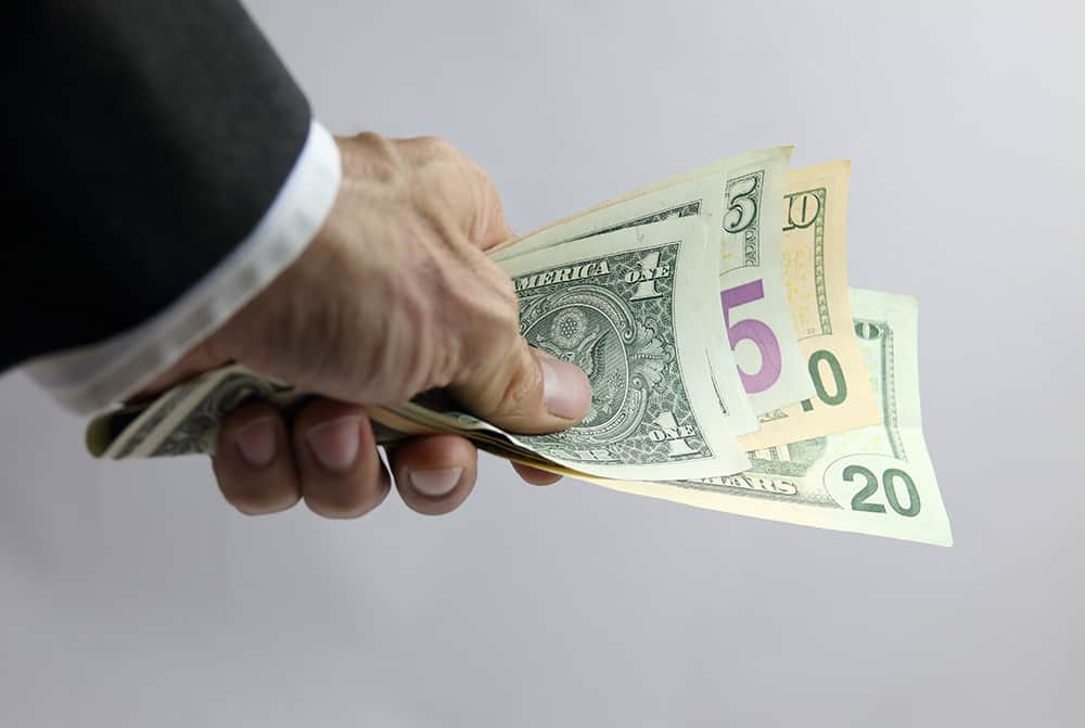 Dollar drops